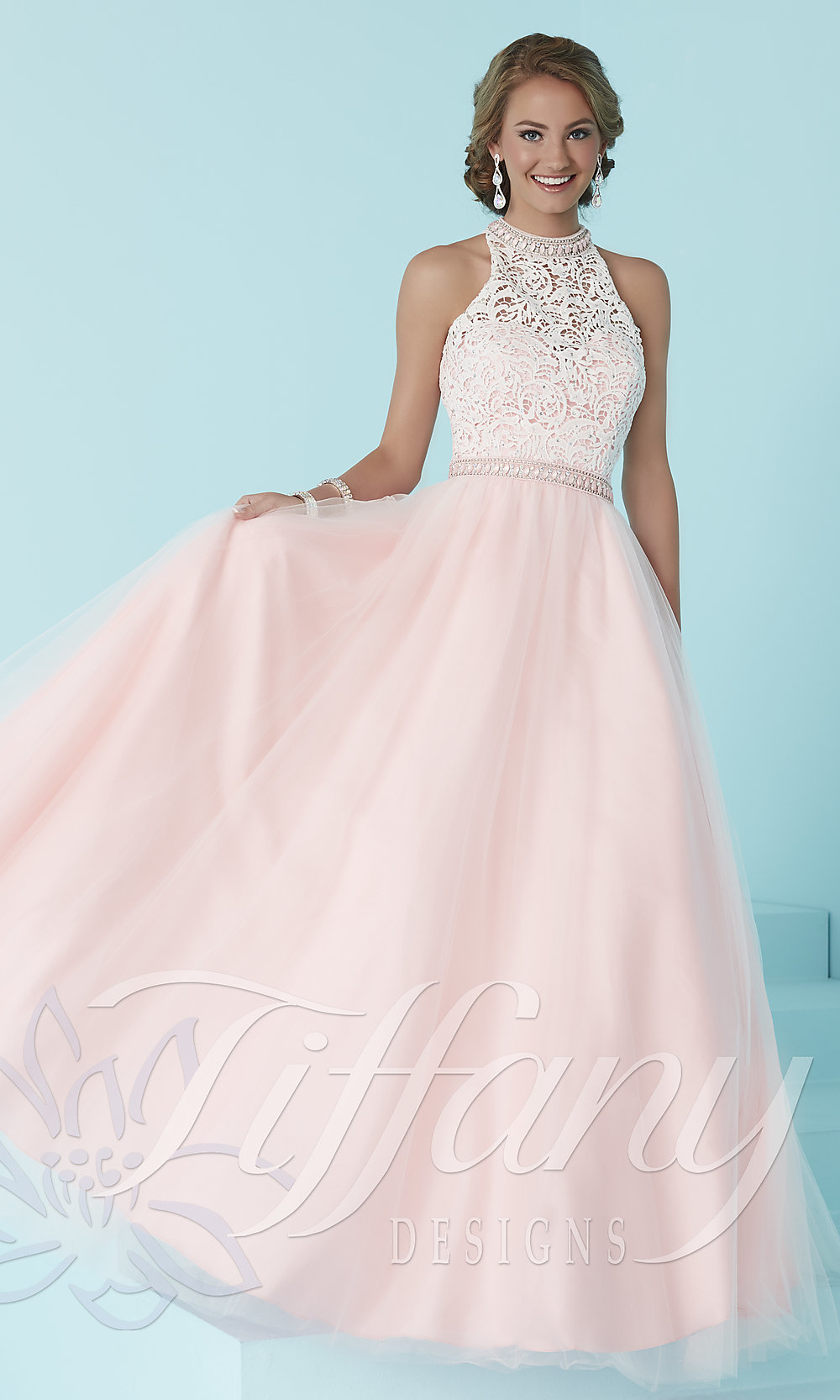 Tiffany prom dresses spring formal dresses for Immediate resource wedding dresses