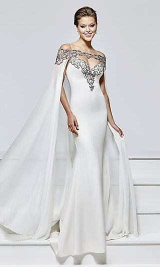 White And Ivory Wedding Dresses P1 By 32 High Price - Td Wedding Dresses