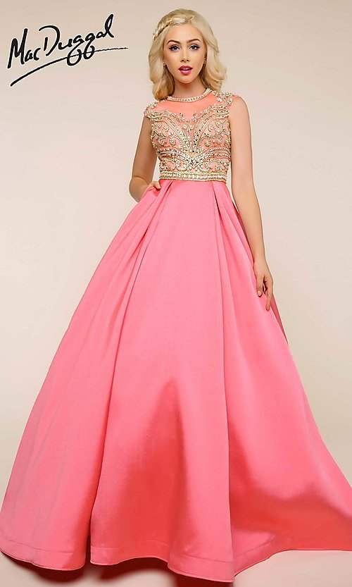 Celebrity Prom Dresses, Sexy Evening Gowns - PromGirl: MAC-BG-65828H