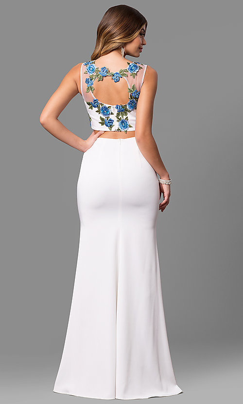 Style: DQ-9820W Back Image