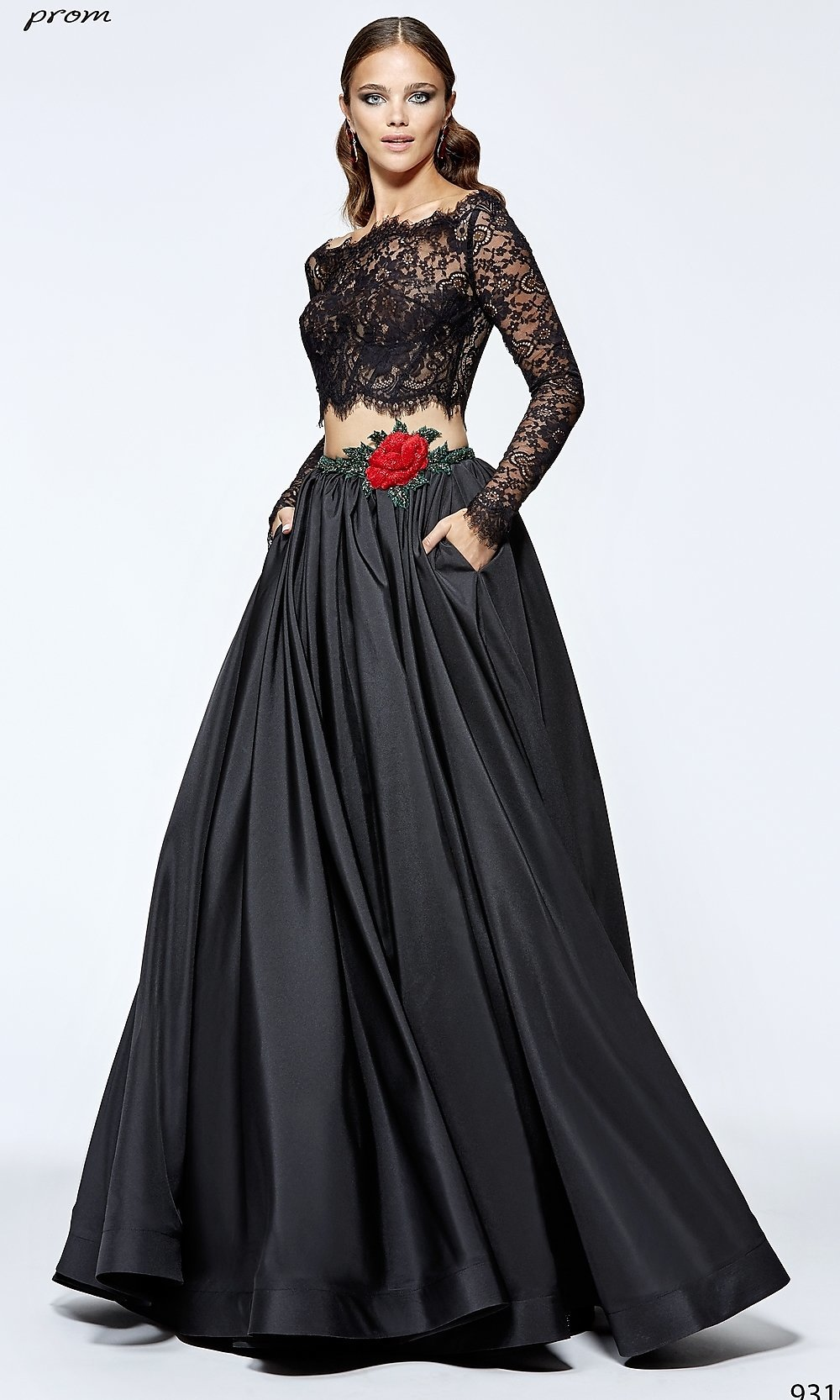 Celebrity Prom Dresses, Sexy Evening Gowns - PromGirl: TD-P93107
