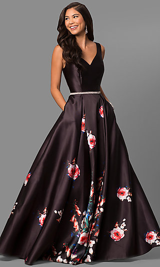 Pageant Gowns Glamorous Long Evening Dresses