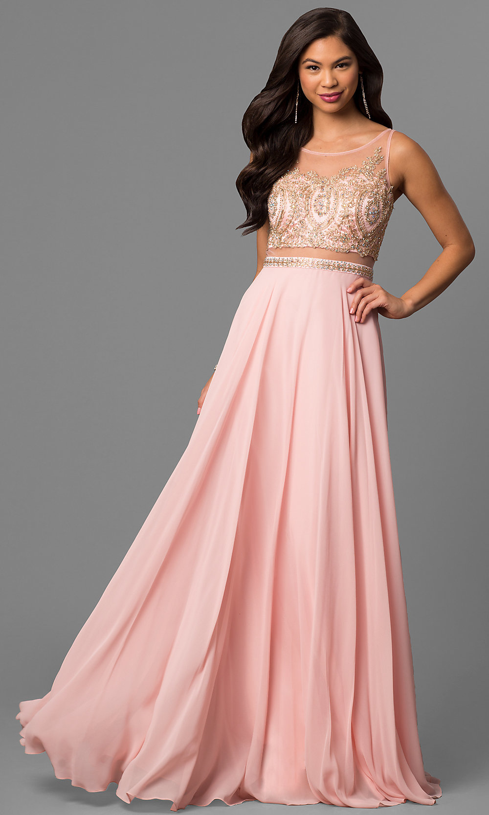 Celebrity Prom Dresses, Sexy Evening Gowns - PromGirl: DQ-9856