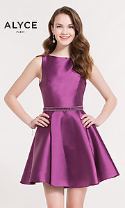 Short Alyce Homecoming Dress