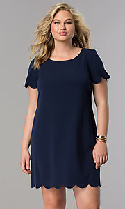 Short Shift Plus-Size Party Dress