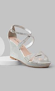 Silver Page by Your Party Shoes