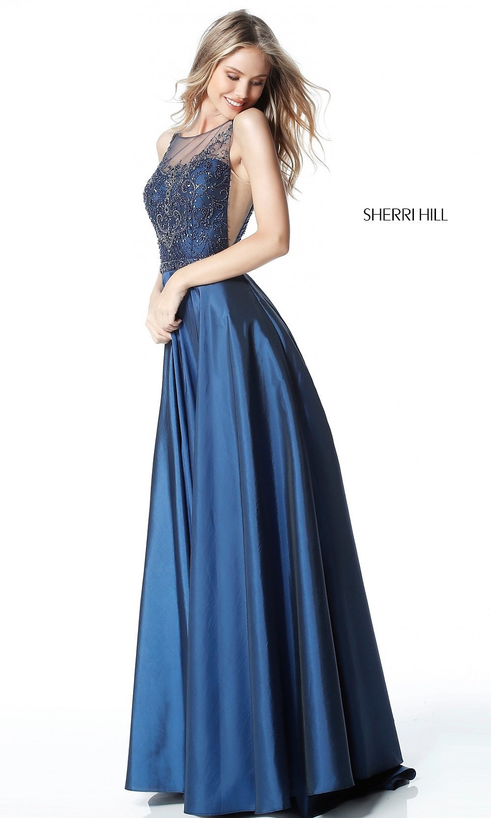 Celebrity Prom Dresses, Sexy Evening Gowns - PromGirl: SH-51478