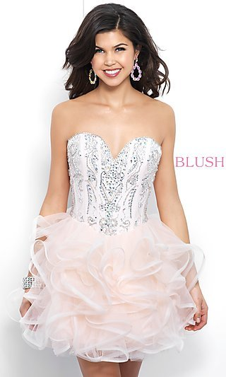 Corset Dresses, Lace-Up Long Prom Dresses - p1 (by 32 - high price)