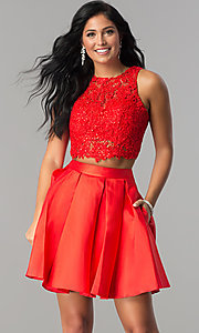 Two-Piece Homecoming Dress from Splash by Landa