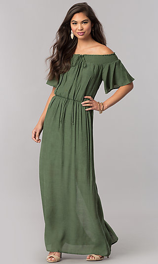 Green Prom Dresses, Special Occasion Dresses -PromGirl