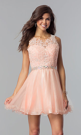 05e3121dfb21 Pink Prom Dresses, Party Dresses in Pink - PromGirl