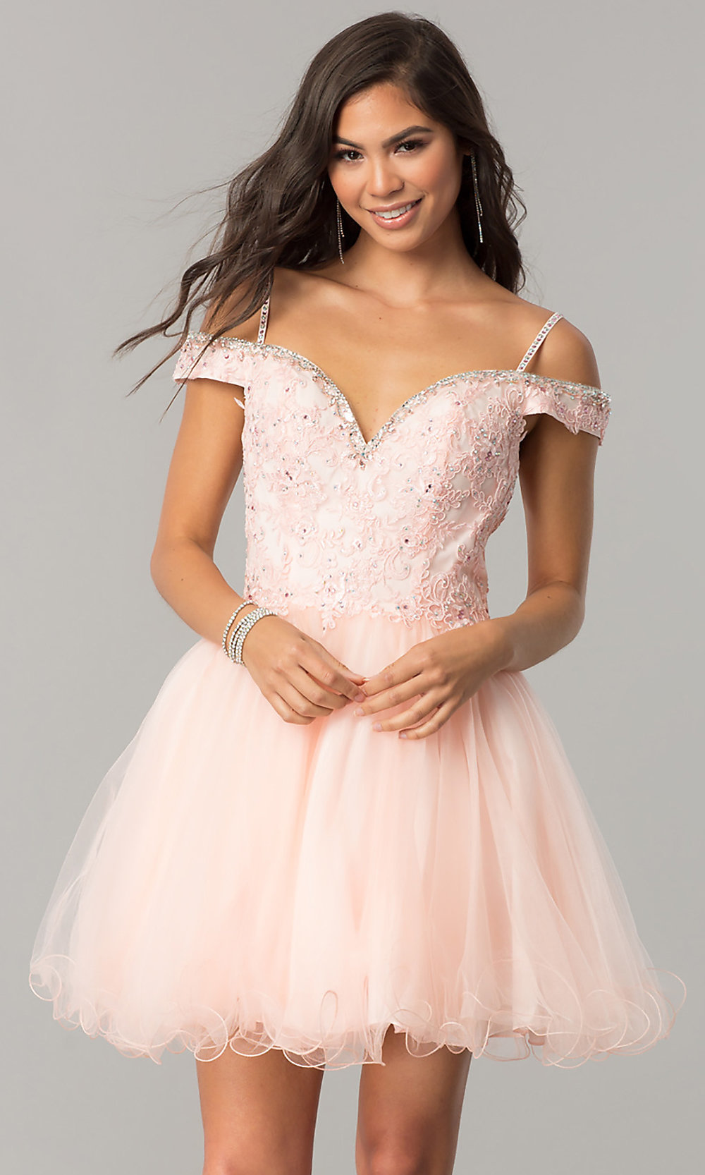 Celebrity Prom Dresses, Sexy Evening Gowns - PromGirl: DQ-2019