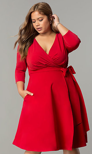 Red Dresses For Plus Size Seatledavidjoel