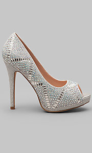 Style: LL-Elissa-3-Silver Detail Image 1