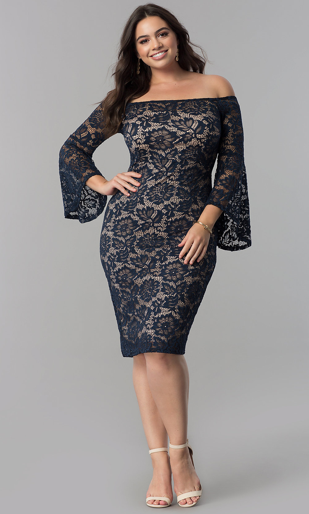 Sexy Plus-Size Dresses, Sexy Plus Gowns - PromGirl