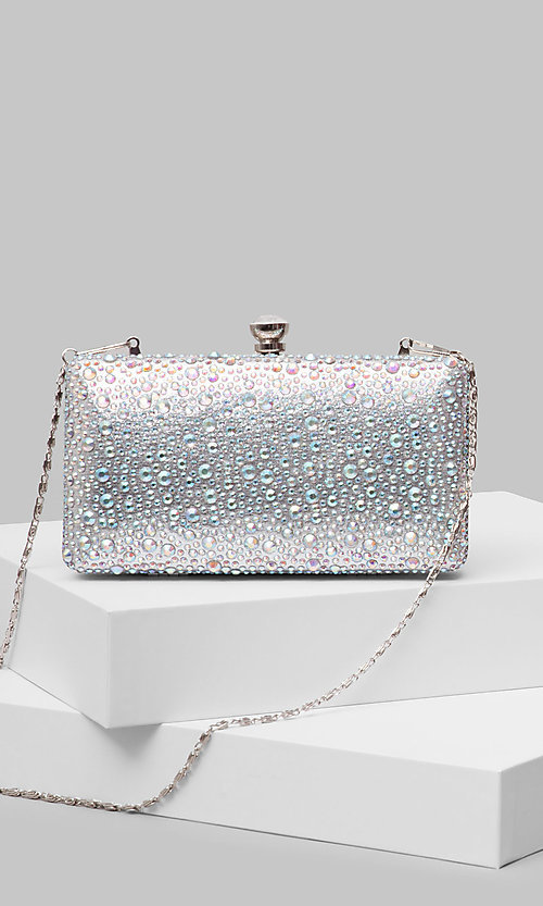 Style: LL-Candy-Bag-Silver Front Image