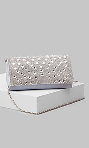 Style: LL-Nobo-Bag-Silver Front Image