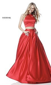 Two-Piece Long Prom Dress by Sherri Hill