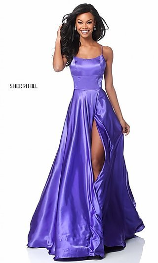 Purple Prom Dresses Evening Gowns Promgirl