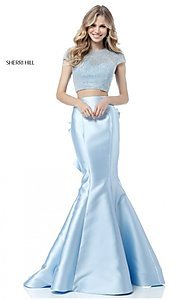 Two-Piece Sherri Hill Long Prom Dress