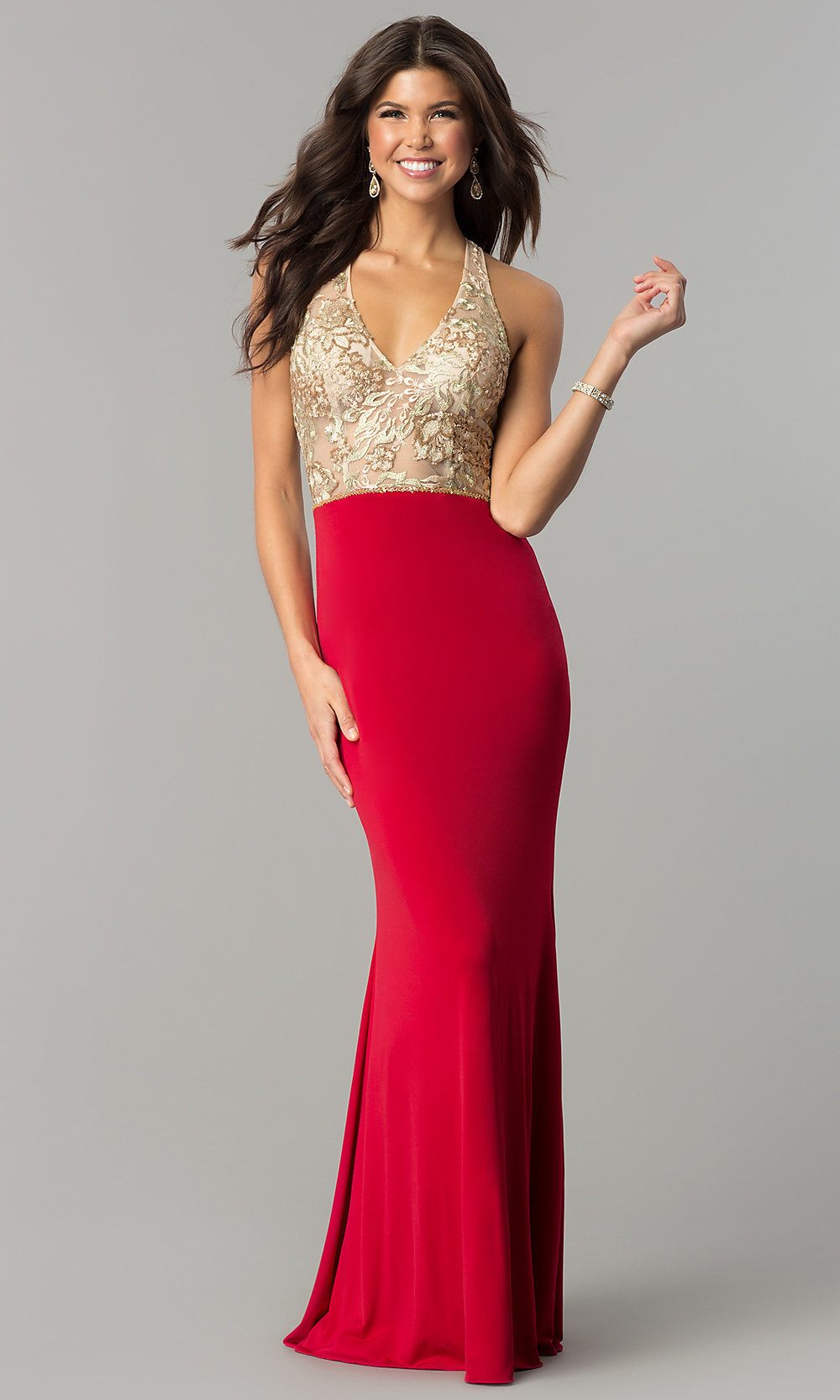Celebrity Prom Dresses, Sexy Evening Gowns - PromGirl: NC-2130