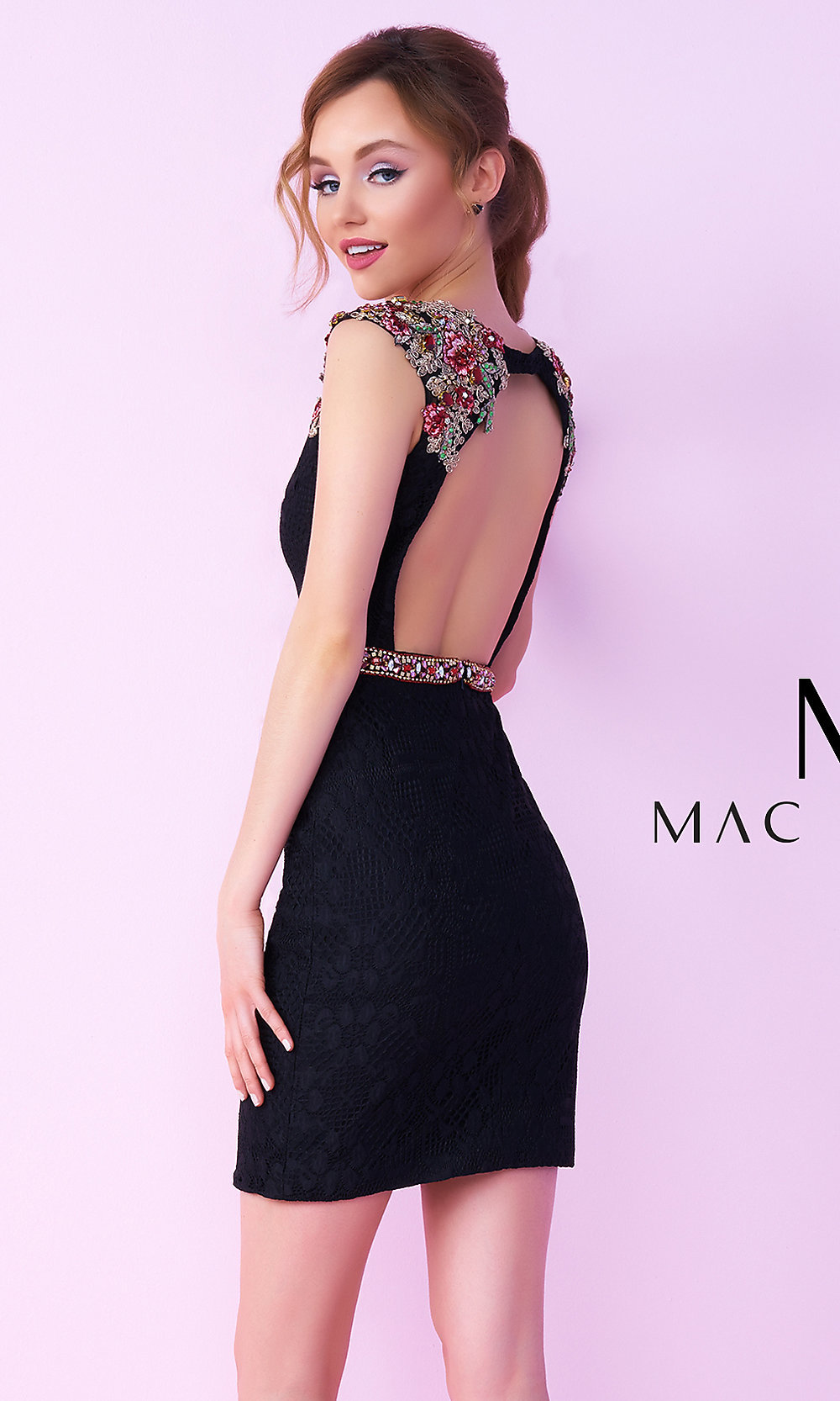 Celebrity Prom Dresses, Sexy Evening Gowns - PromGirl: MAC-40685N