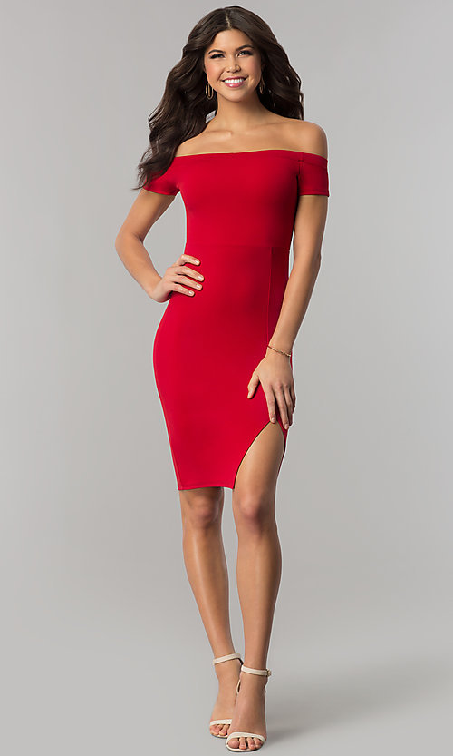 Long Red Holiday Dresses