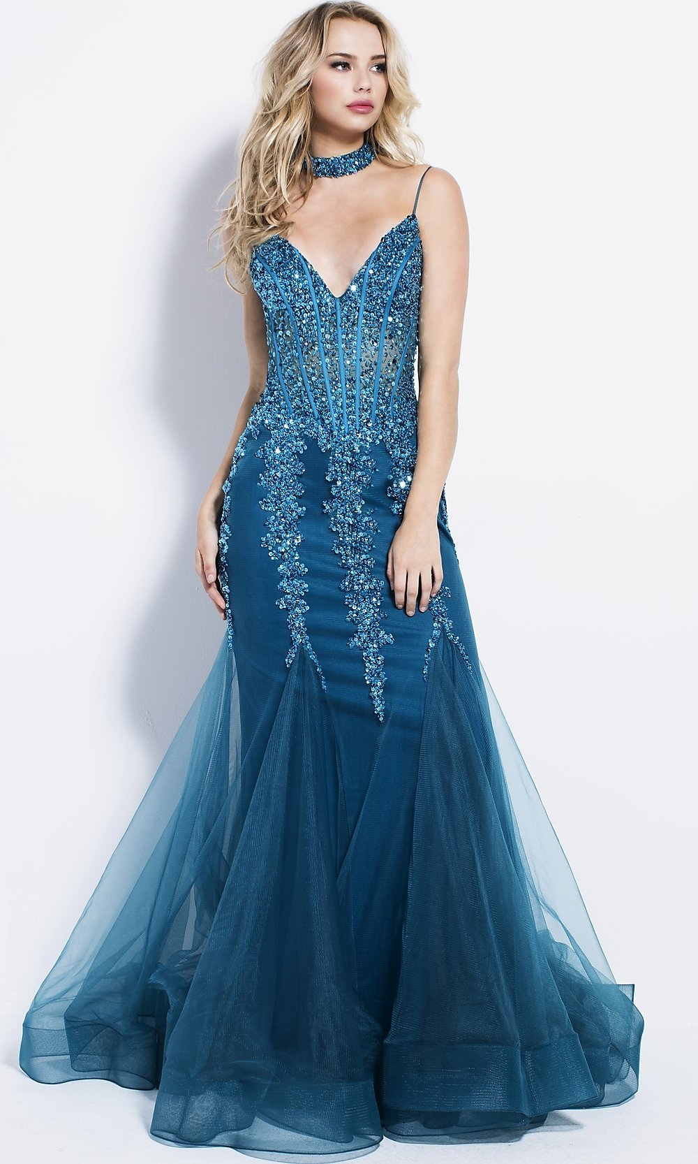 Celebrity Prom Dresses, Sexy Evening Gowns - PromGirl: JO-56032