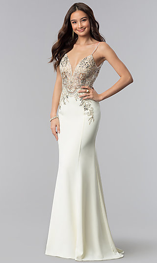 Mermaid Ivory Dress