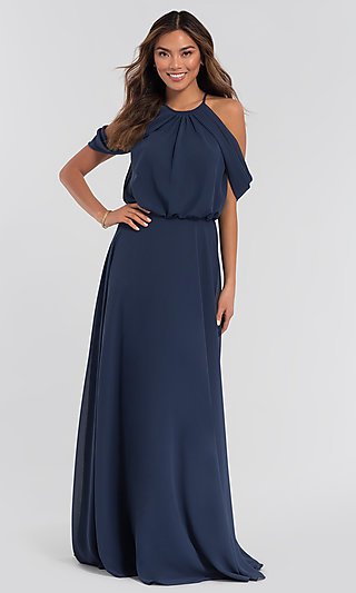 Kleinfeld Chiffon Bridesmaid Dress