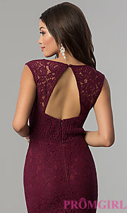Image of sweetheart long lace prom dress by PromGirl. Style: LP-PL-25066 Detail Image 1