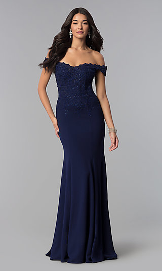 5c89a4e541 Blue Prom Dresses and Evening Gowns in Blue - PromGirl
