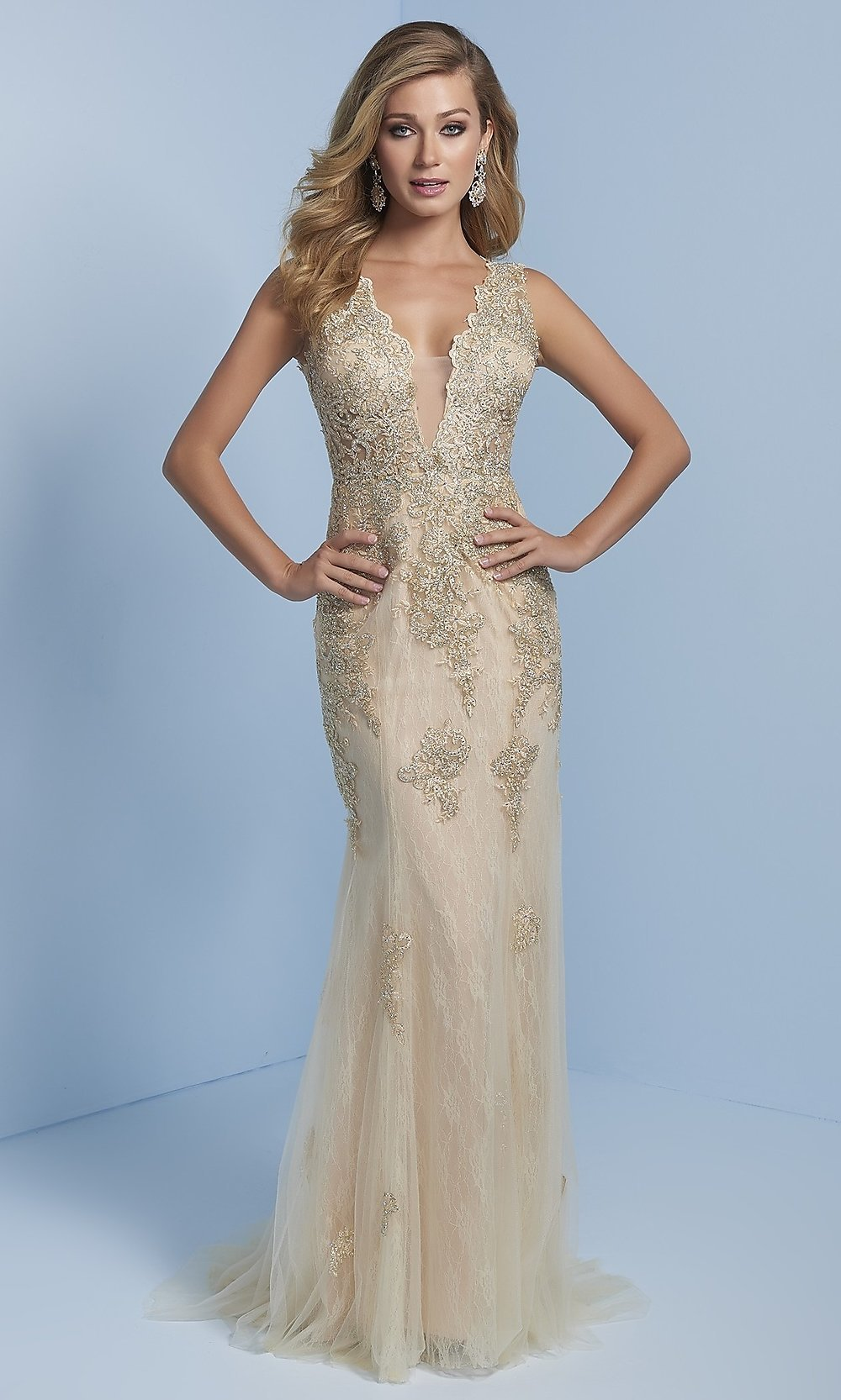 Celebrity Prom Dresses, Sexy Evening Gowns - PromGirl: LN-SP-J703