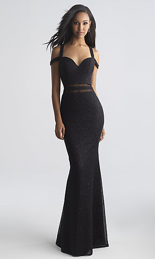 Long Strappy-Open-Back Prom Dress by Madison James