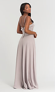 Image of Kleinfeld bridesmaid dress with removable straps. Style: KL-200024 Detail Image 5