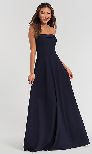Kleinfeld Bridesmaid Dress with Removable Straps