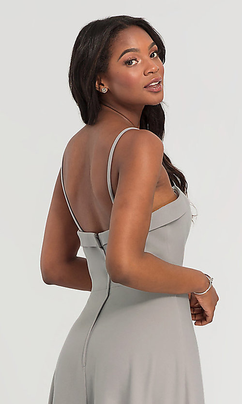 Image of Kleinfeld bridesmaid dress with removable straps. Style: KL-200024 Detail Image 6