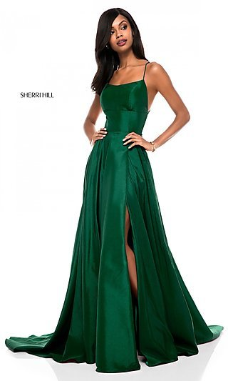 Short Emerald Formal Dress