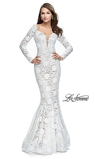 La Femme Prom Dresses, Elegant Formal Gowns - p1 (by 32 - high price)