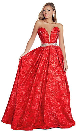 Red Prom Dresses Red Party Evening Dresses P1 By 32