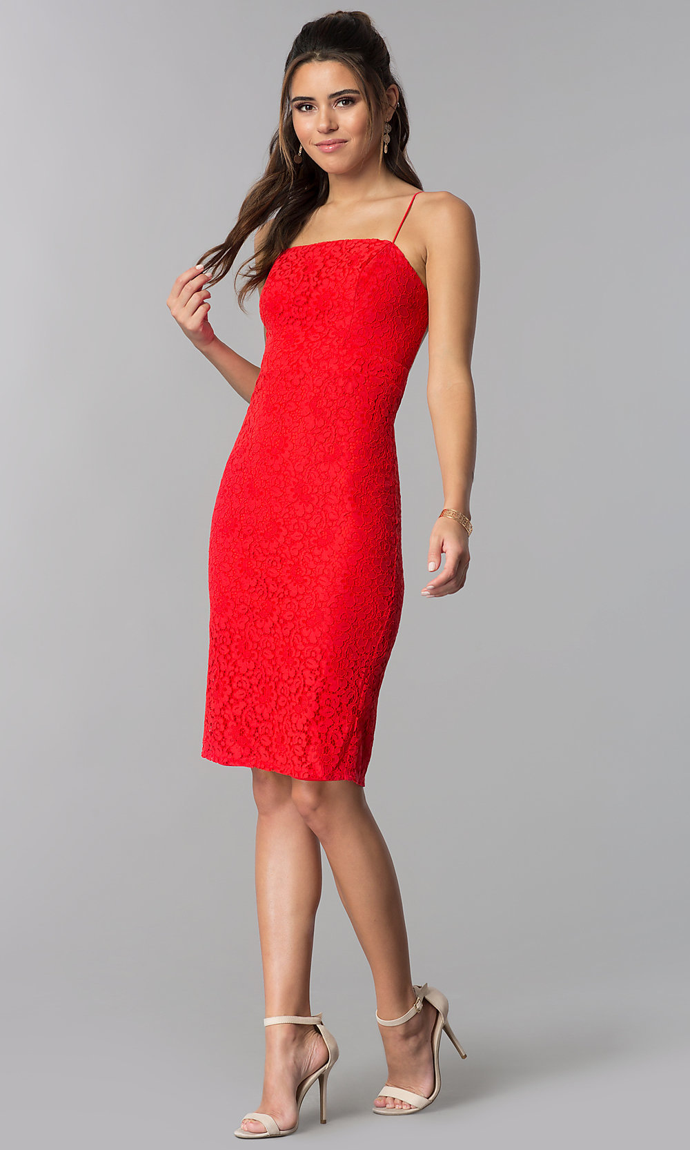 Candy Red Dress
