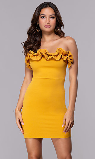Strapless Prom Dresses and Strapless Gowns - PromGirl