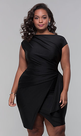 bd011499a5c Plus-Size Wedding-Guest Dresses and Gowns - PromGirl