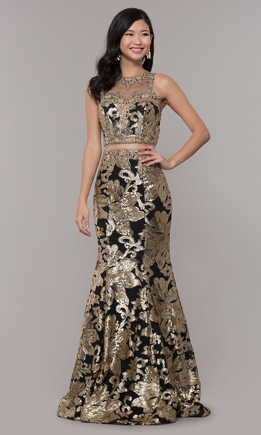 43c5d7110b2 Long Black Sequin Prom Dress - Data Dynamic AG