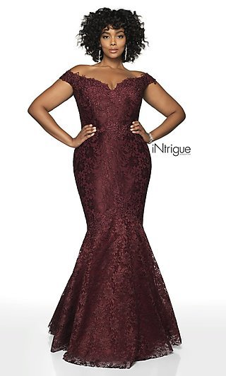 Plus Designer Prom Dress from Intrigue by Blush