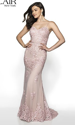 Embroidered Sweetheart Prom Dress from FLAIR