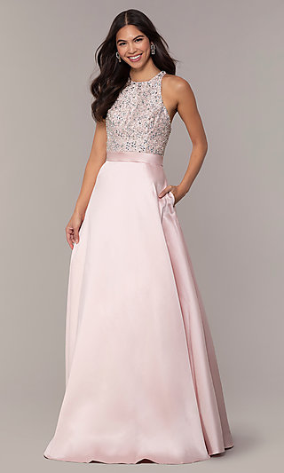 Long A-Line Prom Dress from JVNX by Jovani