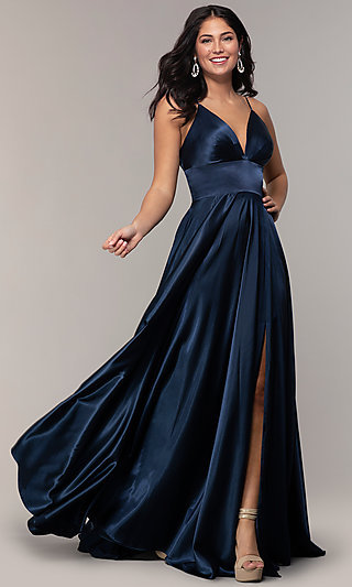 b5d32fe571a Blue Prom Dresses and Evening Gowns in Blue - PromGirl