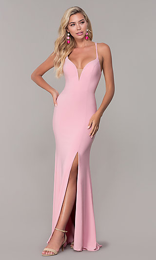Pink Fancy Prom Dresses