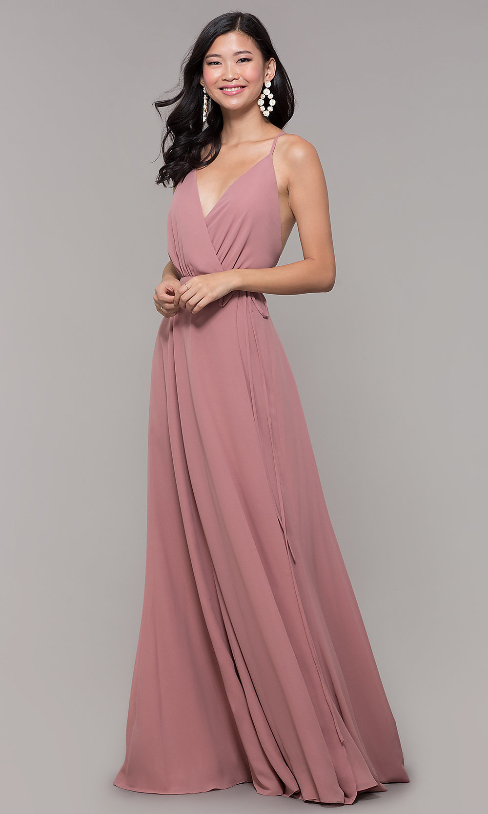 Prom Dresses with Wrap